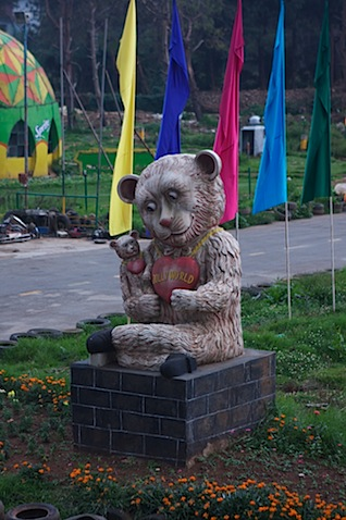 Demented Bear at Jollyworld